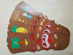 Colorful Tiki Mask Replacement Ceiling Fan Blades