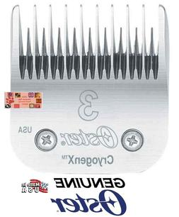 Oster Cryogen-X 3 SKIP Tooth BLADE*Fit A5/A6,Many Andis,Wahl