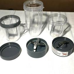 Cup and Blade 6 Pc Set for NutriBullet Replacement High Spee