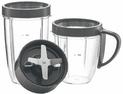Cup and Blade 5 Pc Set for NutriBullet Replacement High Spee