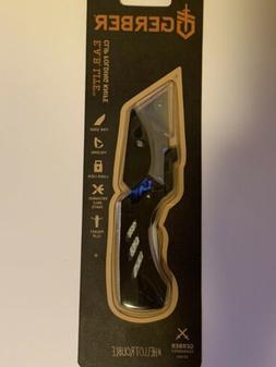 Gerber EAB LITE BLACK Stainless Steel Folding Utility Blade