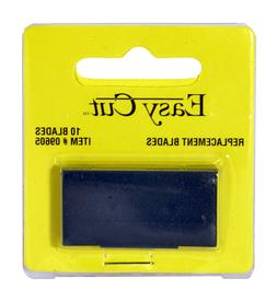 Easy Cut Safety Box Cutter Knife REPLACEMENT BLADES 10 EA/PK