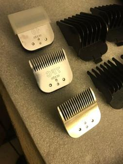 Andis EasyClip Clipper Kit Stainless Steel # 4-7-10 FC Blade
