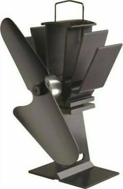 Caframo Ecofan Original Black Blade Heat Powered Stove Fan