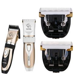 Electric Animal Pet Dog Cat Hair Trimmer Shaver Razor Groomi