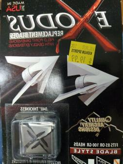 QAD Exodus Broadhead Replacement Blades Full