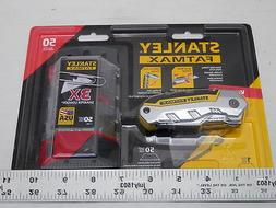 Stanley FatMax Retractable Folding Utility Knife+50 replacem