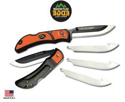 """Outdoor Edge Folding Knife 3.0"""" RAZORLITE 420J2 stainless Re"""