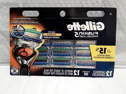 Gillette Fusion 5 Proglide Razor Blades 12 Replacement Cartr