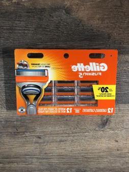 Gillette Fusion 5 Razor Blades 12 Replacement Cartridges Bla