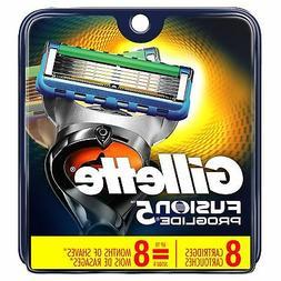 Gillette Fusion5 ProGlide Men's Razor Blades, 8 Blade Refill