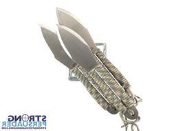 SOG Classic Throwing Knives Set with Sheath - Fling Balanced