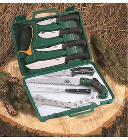 OUTDOOR EDGE GAME PROCESSOR 12 PIECE BUTCHER KIT BX