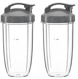 Preferred Parts, 2-Pack 32oz Replacement Cups with Flip Top