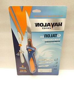 Havalon Talon Fish Interchangeable Fixed Blade Filet Knife,