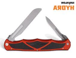 Havalon Knives 9004759 Hydra Double Blade Folding Knife, Bri