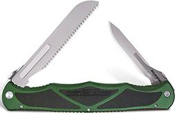 Havalon Knives 9004751 Hydra Double Blade Folding Knife, Hun
