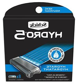 Schick Hydro Sense Hydrate Mens Razor Blade Refill with Hydr