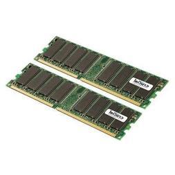 New-2GB Kit 400MHz DDR - CT2KIT12864Z40B