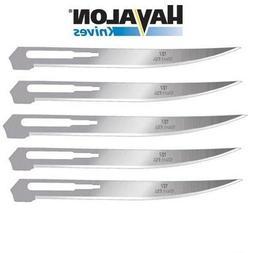 "Havalon Knives #127XT Fillet Blades 5 Pack 5"" Stainless Bara"