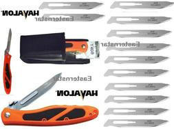 Havalon Knives Piranta Edge Skinning Folding Field Knife Ora