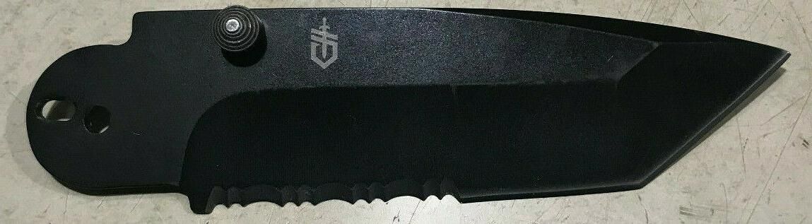 Gerber 06 Tanto Black Stainless Replacement Blade 7Cr17MoV