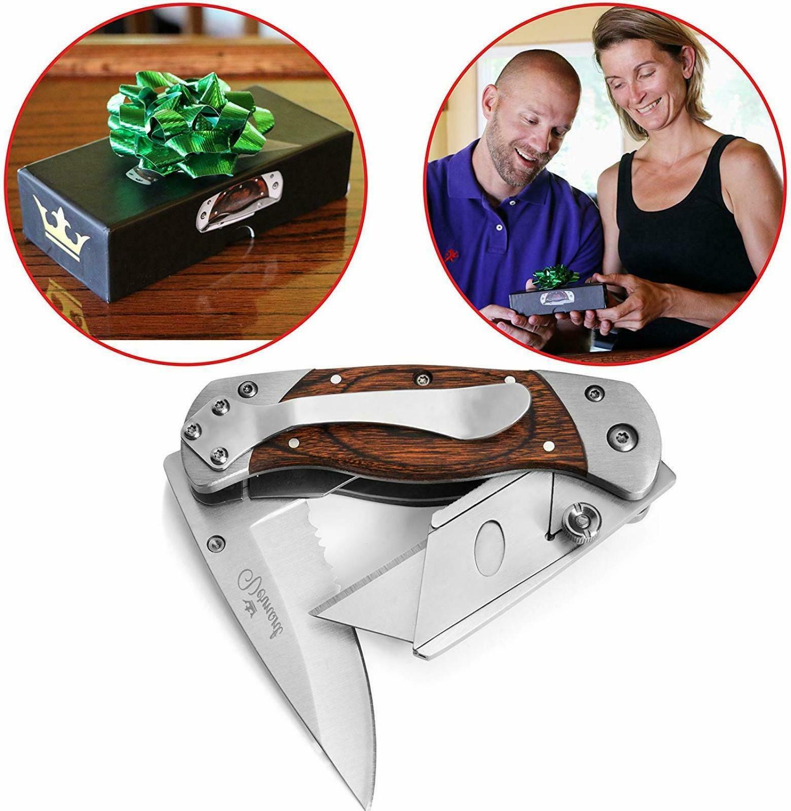 1 folding utility knife cutter