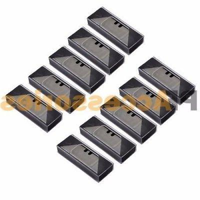 100 Utility Razor Blade Refill Replacement Double Side Blades Case