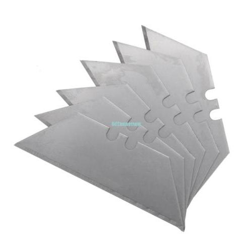 100 Pcs Replacement Set Steel Blades Utility Knife