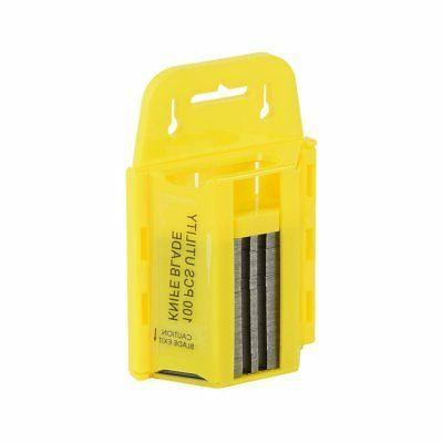 100pc Utility w/ Dispenser | Cutter Exacto Replacement Knife