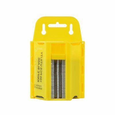 100pc utility blades w dispenser box cutter