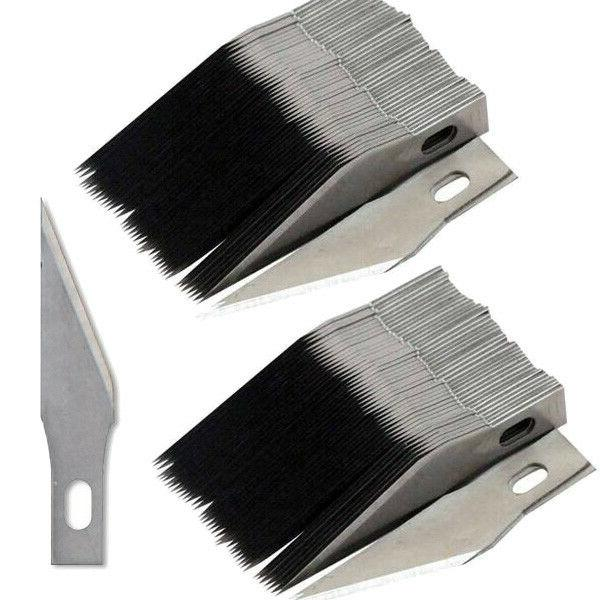 100pcs 11 blades for x acto knife