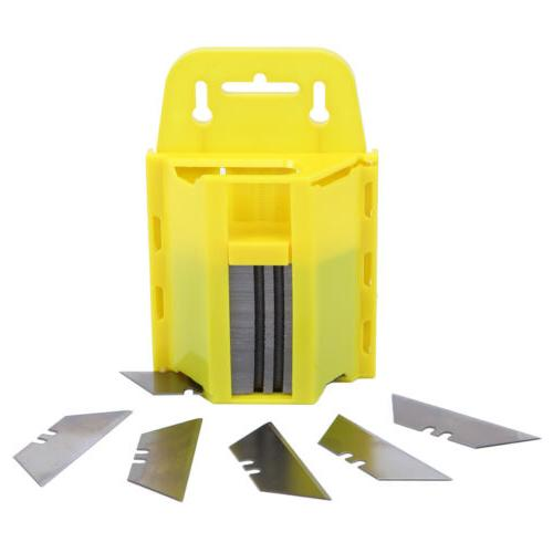 Ridgeyard 100Pcs Utility Blades Box Cutter Exact Replacement