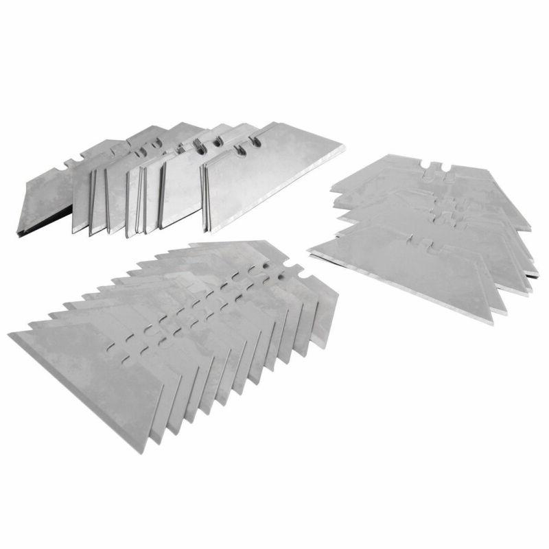 100Pcs Steel Standard Knife Razor Replacement Knife