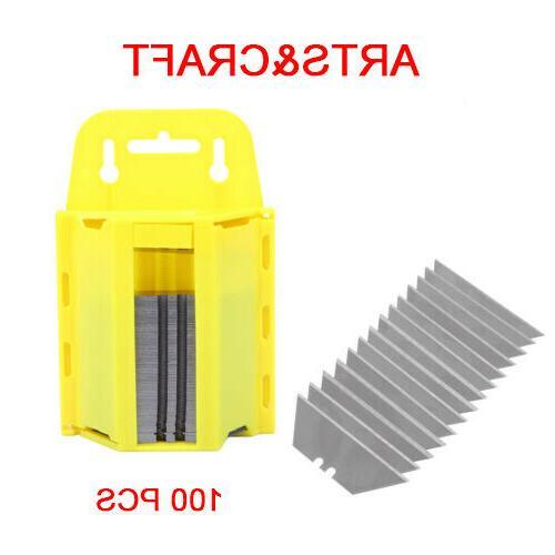 Ridgeyard 100Pcs Box Cutter Replacement Exact