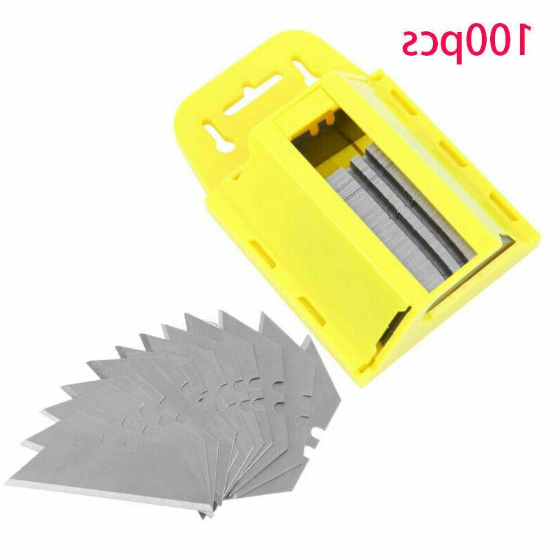 100pcs utility blades box cutter replacement knife