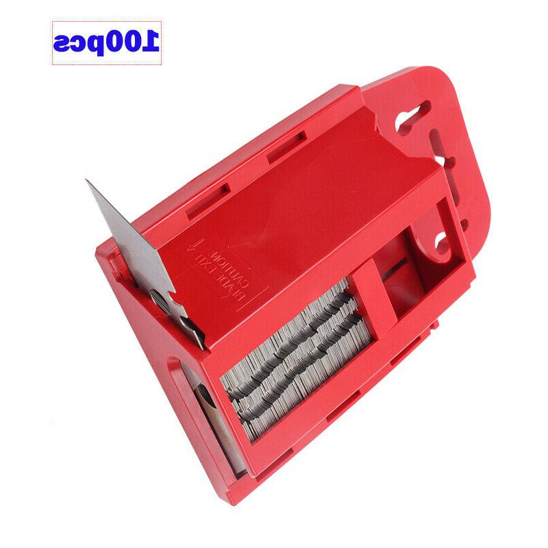 100PCS UTILITY Replacement Refills Box Cutter Tool