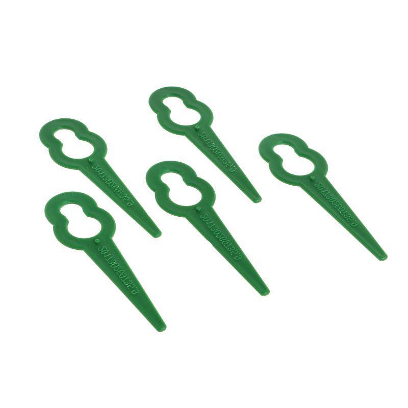 10pcs Plastic Grass Trimmer <font><b>Blades</b></font> Mower <font><b>Replacement</b></font> Fast Switchblades Au15 dropship