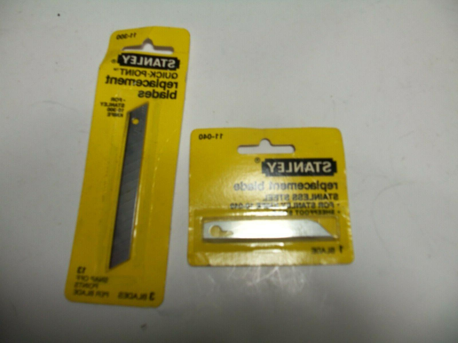 11 040 and 11 300 replacement blades