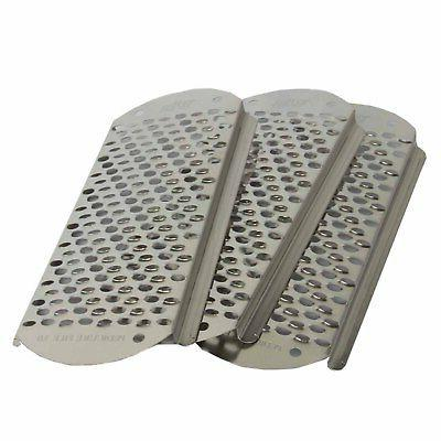 3pcs Foot Replacement Blades Pedicure Stainless Big Hole