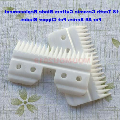 1pcs 18 Teeth Ceramic Cutters Blade Replacement For A5 Serie
