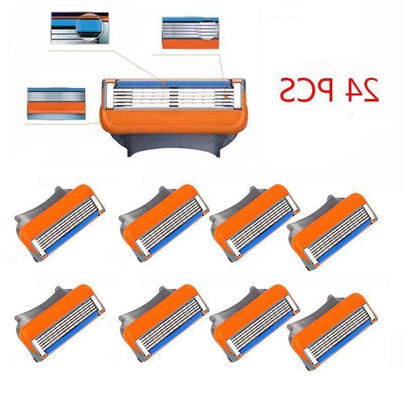 24pcs blades compatible razor blades replacement