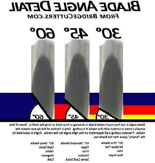 3-Pack Cemented Carbide Blade Set 45