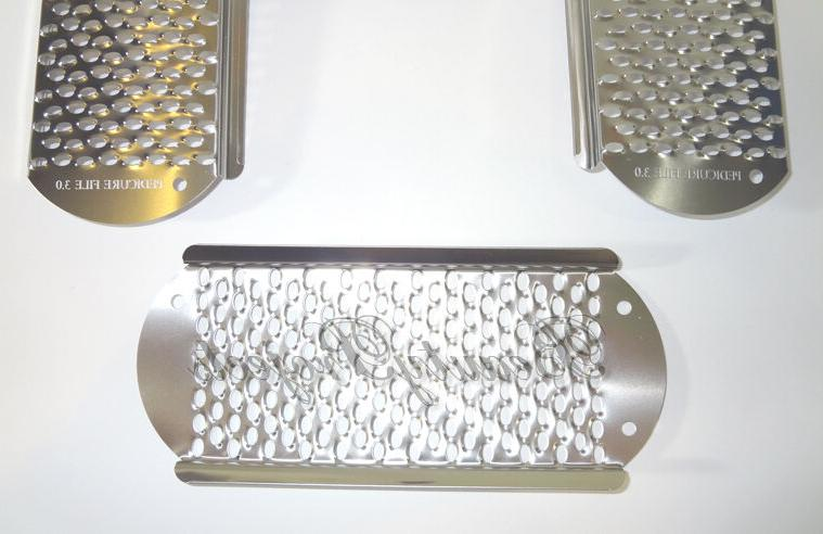 3pc Remover Pedicure Rasp Stainless Big