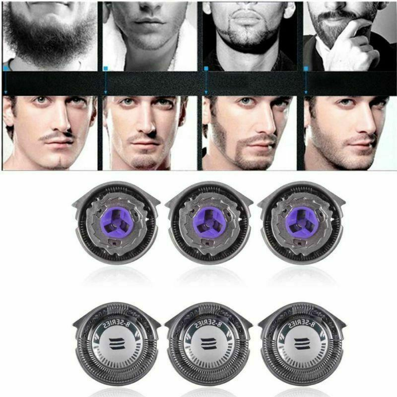 3pcs replacement shaver blades head for philips