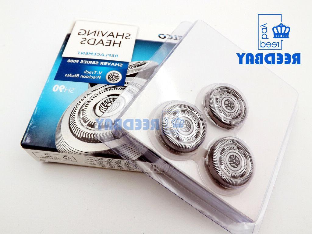 3x shaver razor replacement blades sh90 52