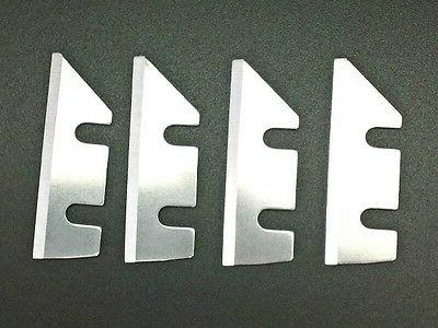 4 pack replacement blades for ice shaver