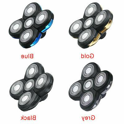 5 head blades shaver replacement for electric