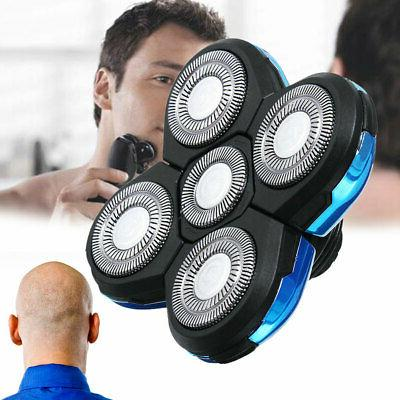 5 Head Blades Shaver Replacement For Electric Razor Shaving