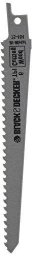 Black & Decker Accessories #75-484 6 6TPI Recip Blade